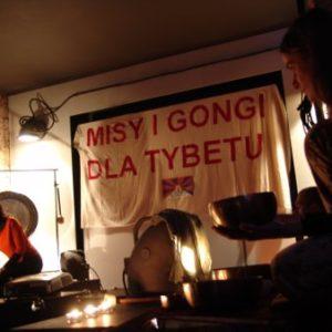 Misy gongi dla Tybetu Poznań 2008