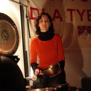 Akcja Misy i gongi dla Tybetu Poznań 2008