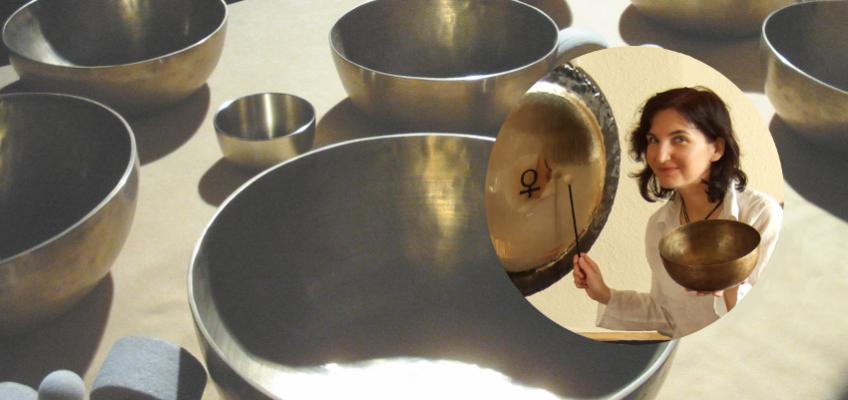 Kąpiel w dźwiękach mis i gongów
