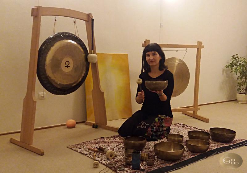 Gramis Ewa Bruss-Kwiatkowska misy gongi Poznań